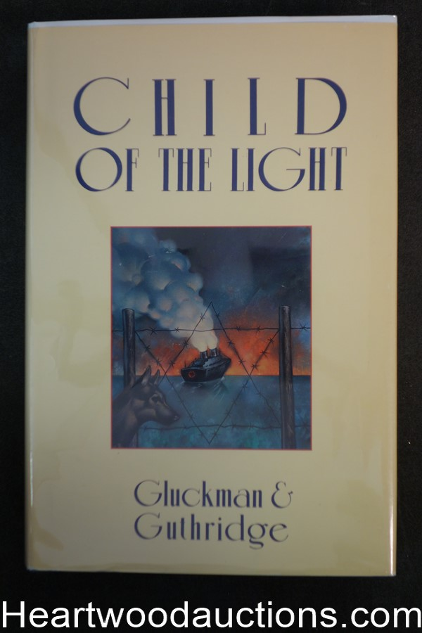 Child of the Light by Janet Gluckman (1992) Signed First Edition- High Grade
