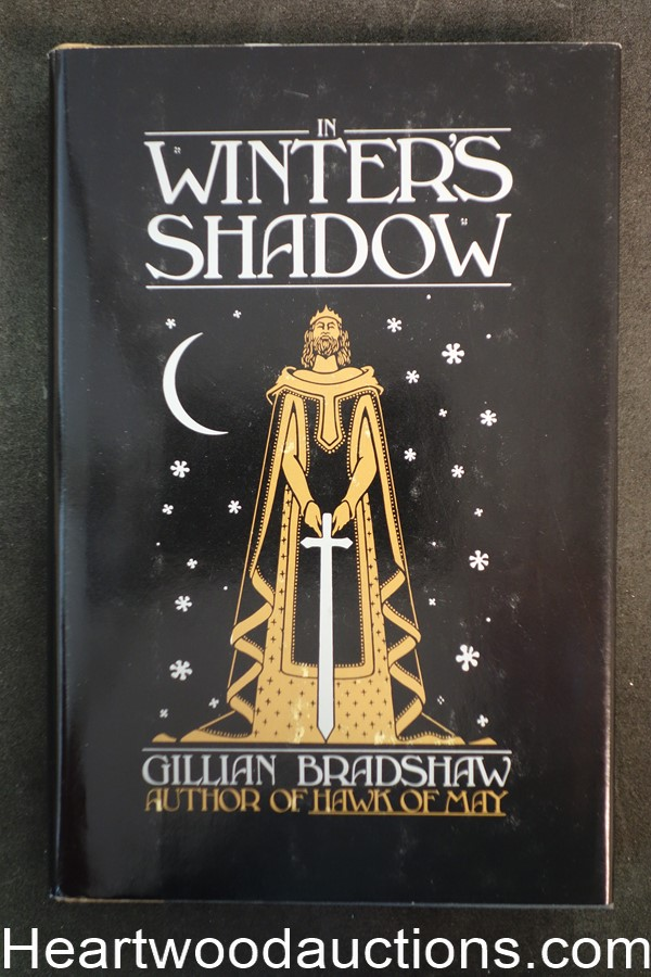 In Winter's Shadow by Gillian Bradshaw (1982) First Edition- High Grade