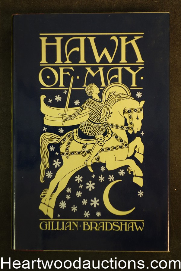Hawk of May by Gillian Bradshaw (1980) First Edition- High Grade