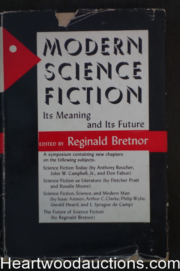 Modern Science Fiction: Its Meaning and Its Future by Reginald Bretnor (1953)
