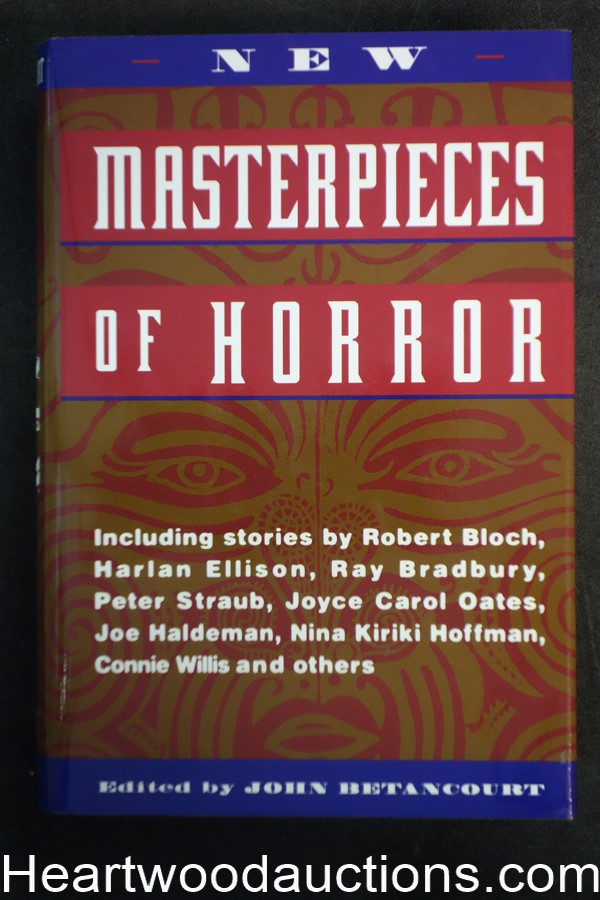 New Masterpieces of Horror by John Betancourt (1996) First edition - High Grade