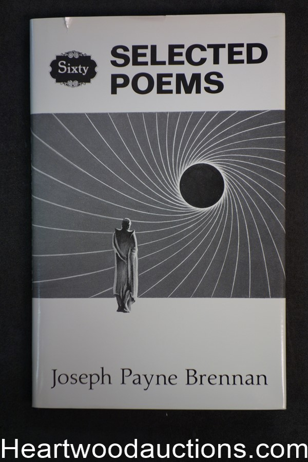Sixty Selected Poems by Joseph Payne Brennan (1985) First edition- High Grade