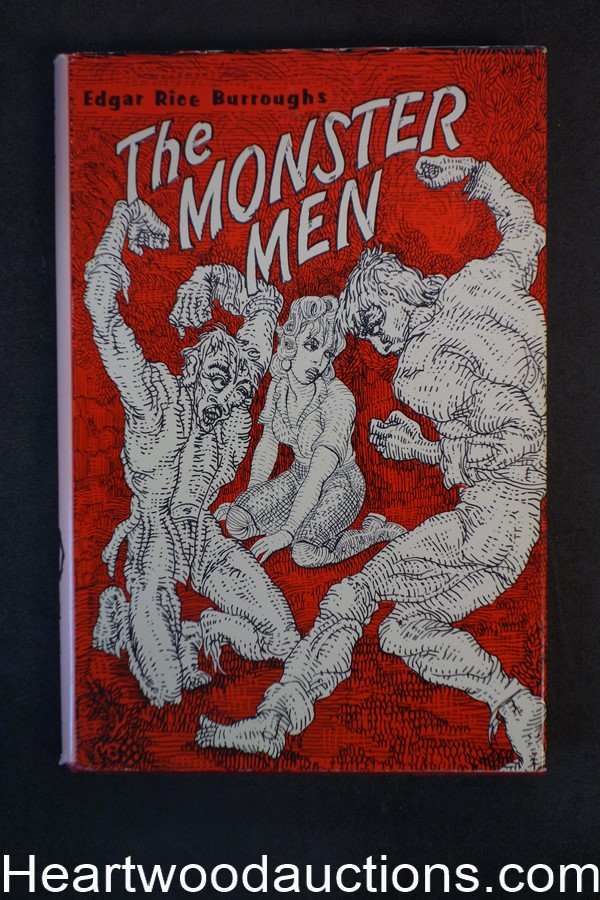 The Monster Men by Edgar Rice Burroughs 1962- High Grade