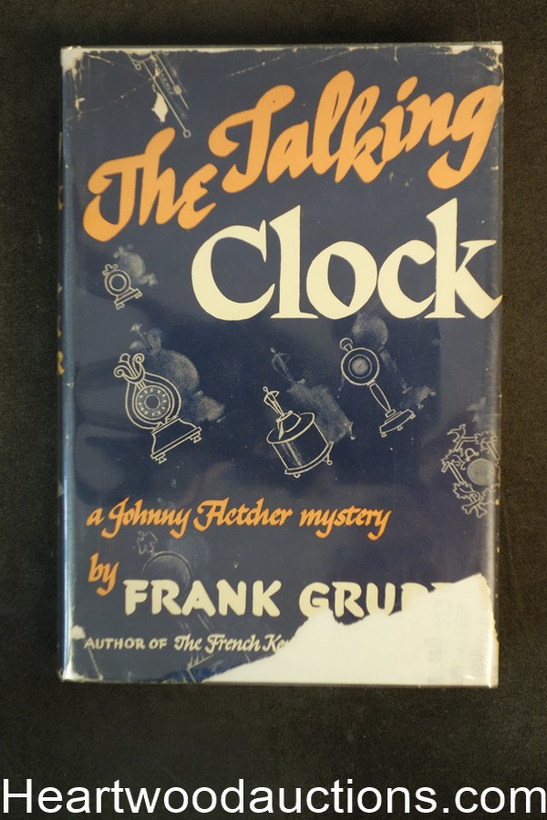The Talking Clock by Frank Gruber 1941