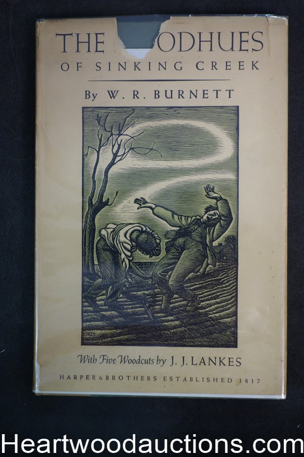 The Goodhues of Sinking Creek by W.R. Burnett 1934