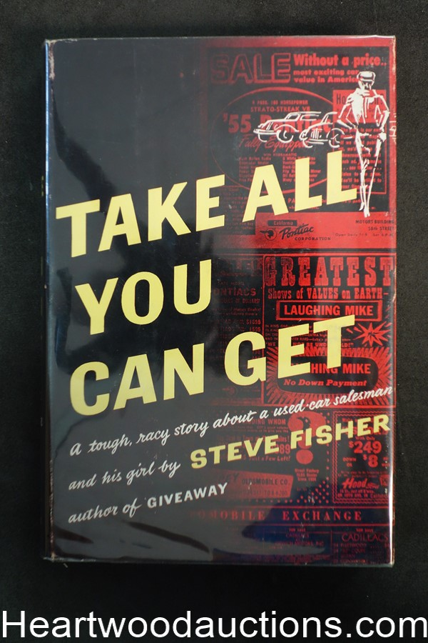 Take All You Can Get by Steve Fisher 1955
