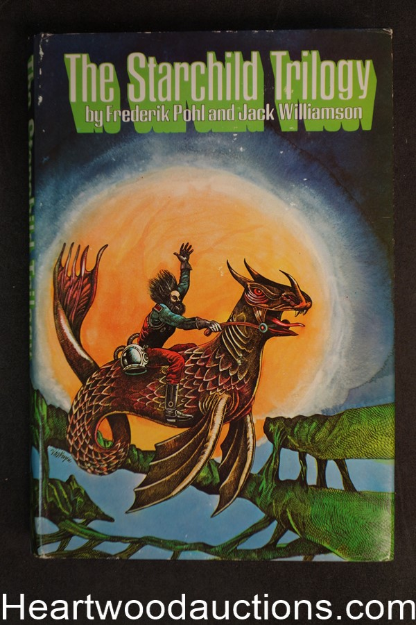 The Starchild Trilogy by Frederik Pohl and Jack Williamson (1968) - High Grade