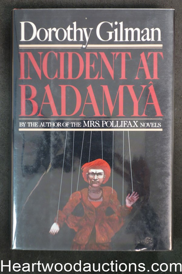Incident At Badamya by Dorothy Gilman (1989) First edition with dustjacket- High Grade