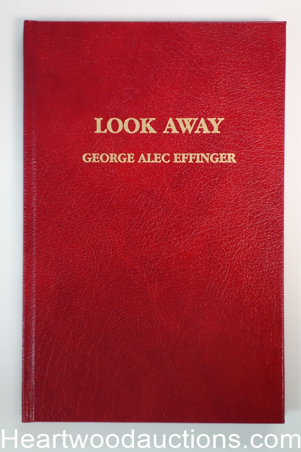 Look Away by George Alec Effinger Signed, Limited- High Grade