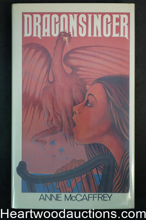 Dragonsinger by Anne McCaffrey (Signed)(First)