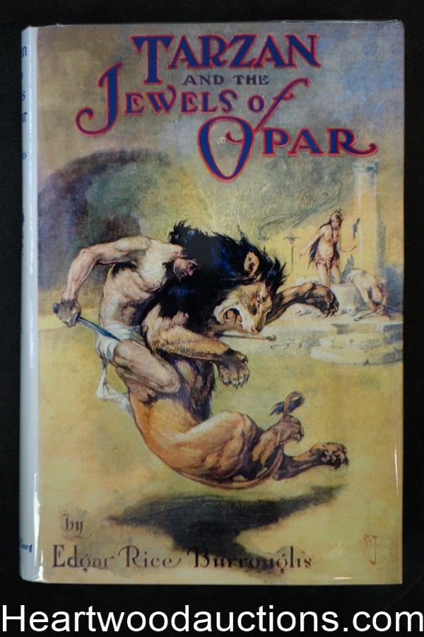 Tarzan and the Jewels of Opar by Edgar Rice Burroughs McClurg First St John Art