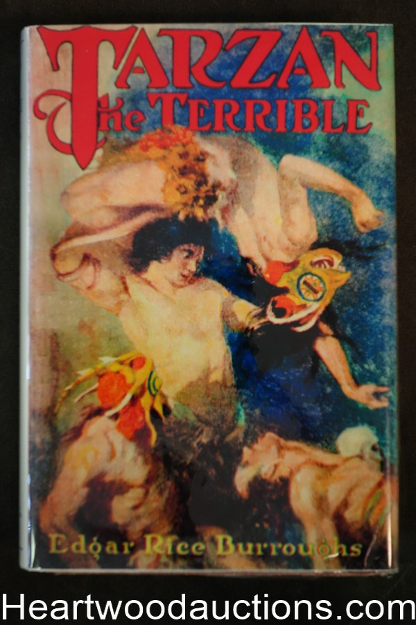 Tarzan the Terrible by Edgar Rice Burroughs First, Facsimile Jacket