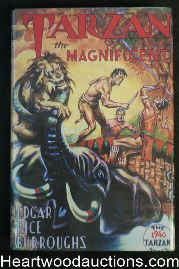Tarzan the Magnificent by Edgar Rice Burroughs (First)(Facsimile Jacket)