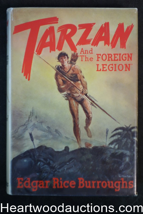 Tarzan and the Foreign Legion by Edgar Rice Burroughs (First)(Contemporary Jacket)- High Grade