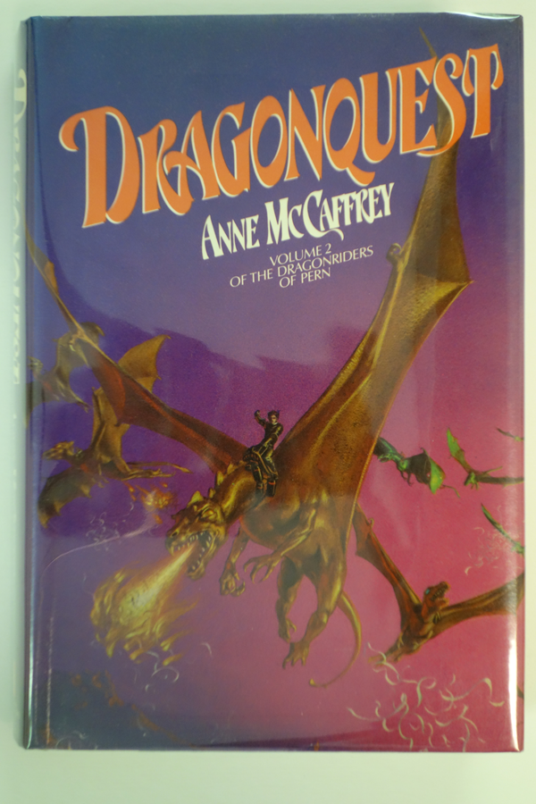 Dragonquest  by Anne McCaffrey (Signed and inscribed)