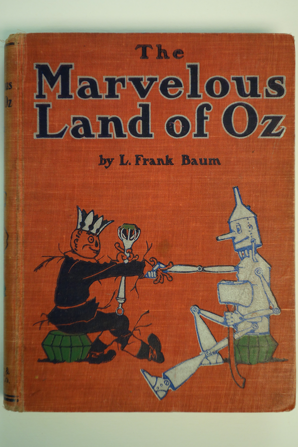The Marvelous Land of Oz by L. Frank Baum (First)