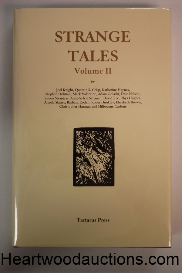Strange Tales Volume II by Rosalie Parker FIRST- High Grade