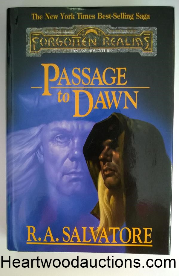 Passage to Dawn by R. A. Salvatore FIRST- High Grade