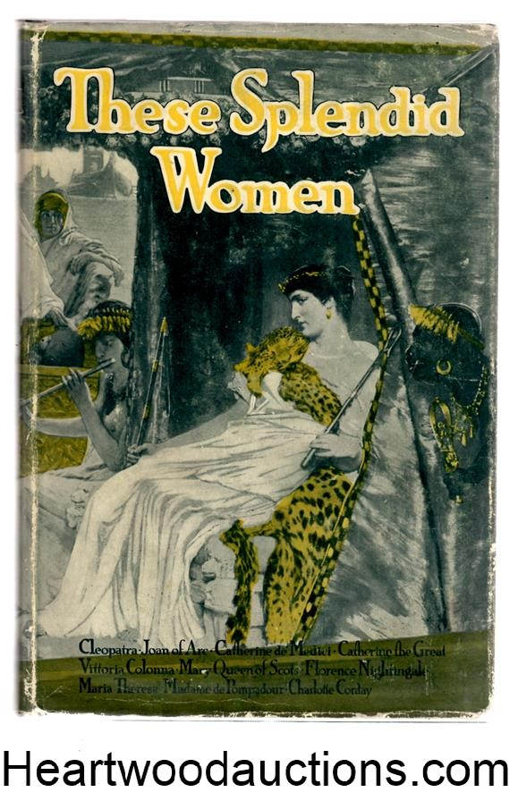 These Splendid Women by Hamblen Sears (editor) FIRST