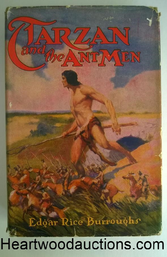 TARZAN and the ANT MEN by Edgar Rice Burroughs 1950s