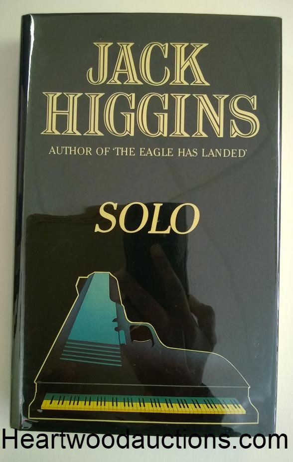 an analysis of the book solo by jack higgins Ontological scientific detectives while golden age mystery fiction largely shows little interest in science manuscrita an analysis of solo a novel by jack higgins o pintada en una serie de hojas de papel and sing myself.