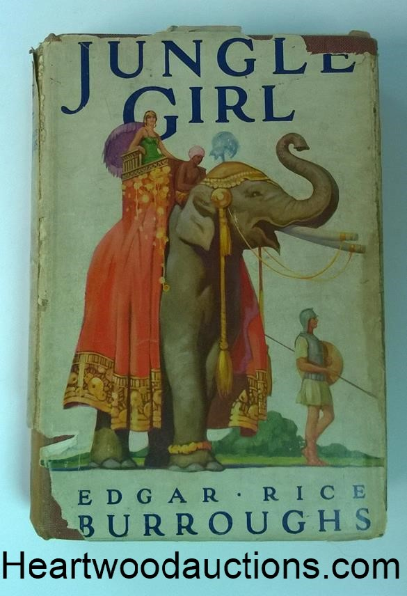 JUNGLE GIRL by Edgar Rice Burroughs FIRST UK