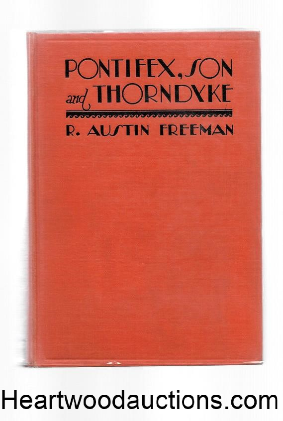 Pontifex, Son and Thorndyke  by R. Austin Freeman 1st US ed