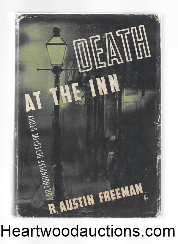 Death At The Inn by R. Austin Freeman 1st US ed