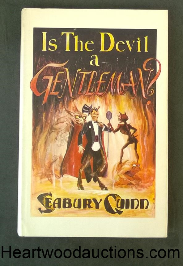 Is The Devil a Gentleman? by Seabury Quinn FIRST LT ED- High Grade