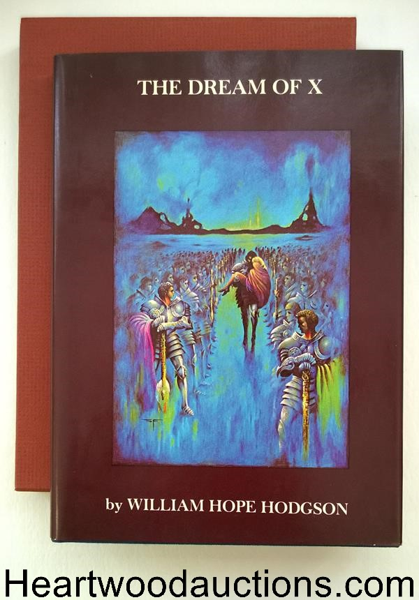 The Dream of X by William Hope Hodgson SIGNED LTD Stephen Fabian Art- High Grade