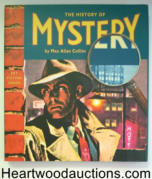 The History of Mystery by Max Allan Collins ART