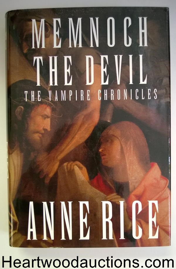 Memnoch the Devil: The Vampire Chronicles by Anne Rice 1st HC w/DJ- High Grade