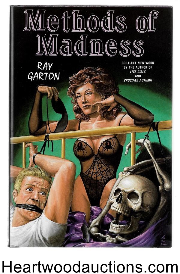 Methods Of Madness by Ray Garton (Signed) Limited Copy 2- High Grade