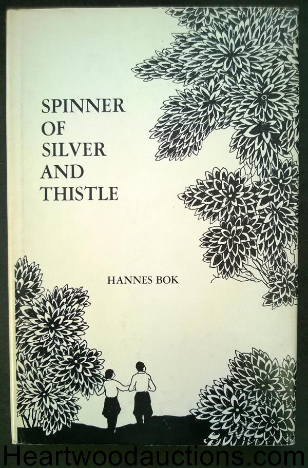 Spinner of Silver and Thistle by Hanes Bok- High Grade