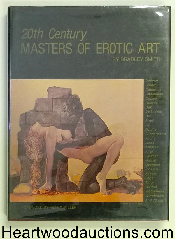 Twentieth Century Masters of Erotic Art by Bradley Smith 1st