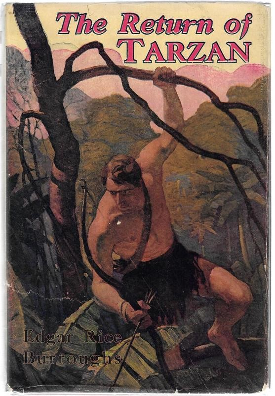 The RETURN of TARZAN by Edgar Rice Burroughs St. John, Wyeth