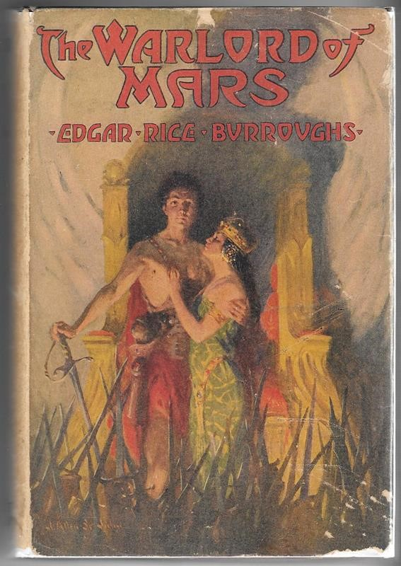 The WARLORD of MARS by Edgar Rice Burroughs G&D J. Allen St. John Art