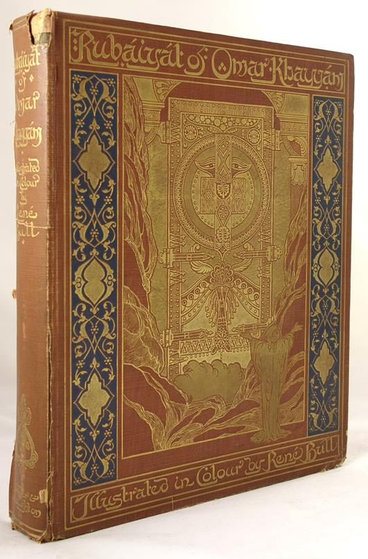 Rubaiyat of Omar Khayyam by Fitzgerald First Rene Bull Edition