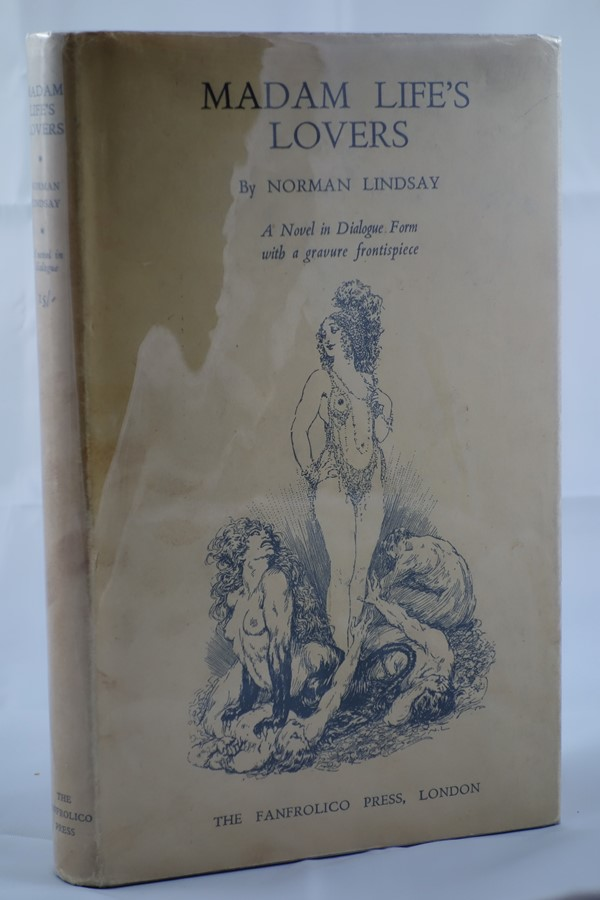 Madam Life's Lovers by Norman Lindsay HC w/DJ