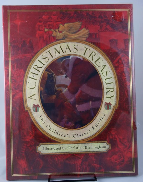 A Christmas Treasury by Christian Birmingham (illus.)
