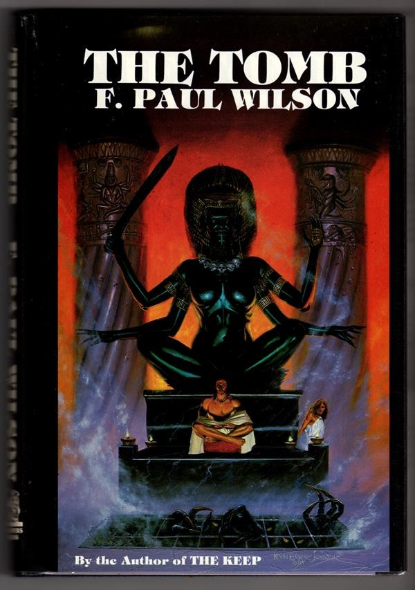 The Tomb by F. Paul Wilson Signed Slipcased- High Grade