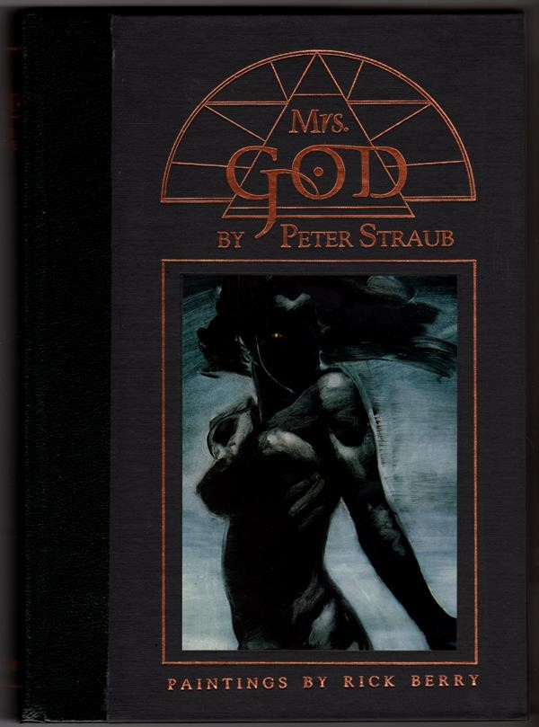 Mrs. God by Peter Straub Signed Slipcased