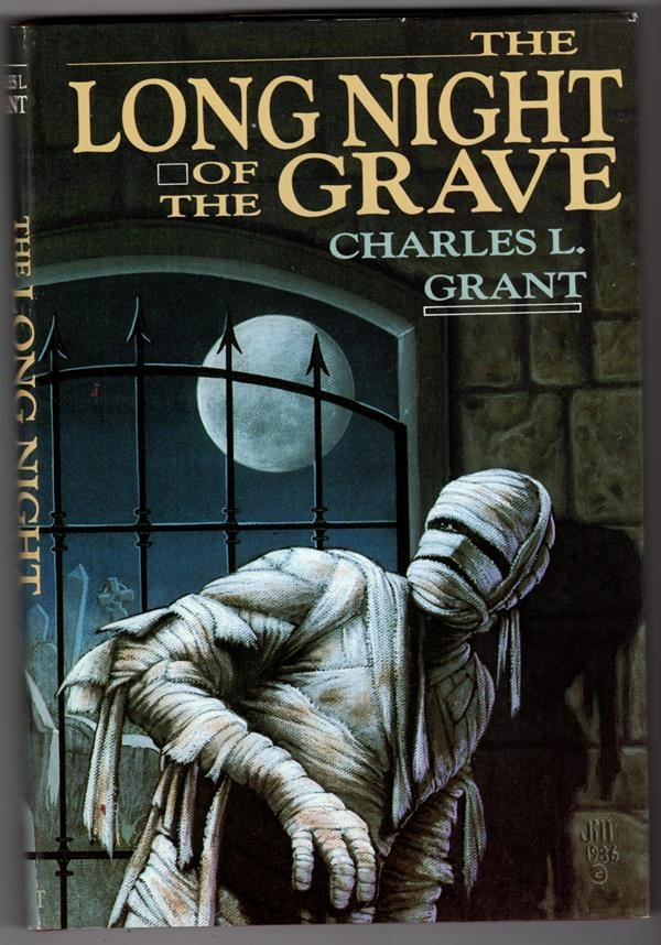 The Long Night of the Grave by Charles L. Grant Signed Slipcased
