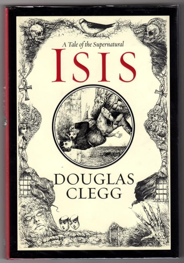 Isis by Douglas Clegg Signed