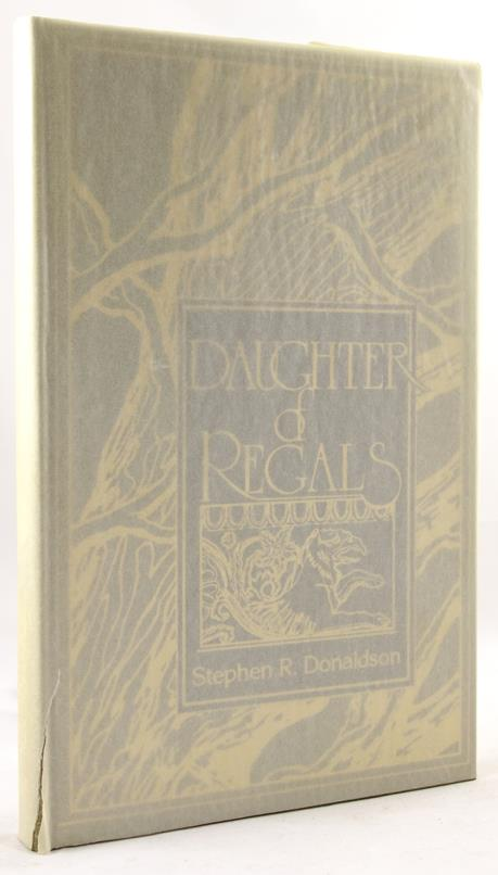 Daughter of Regals by Stephen R. Donaldson Ltd 1st Signed David Cherry Art- High Grade