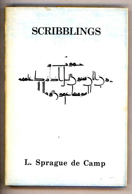 Scribblings by L. Sprague de Camp Signed 1st ltd