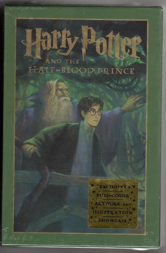 Harry Potter and the Half-Blood Prince by J. K. Rowling Deluxe Slipcased