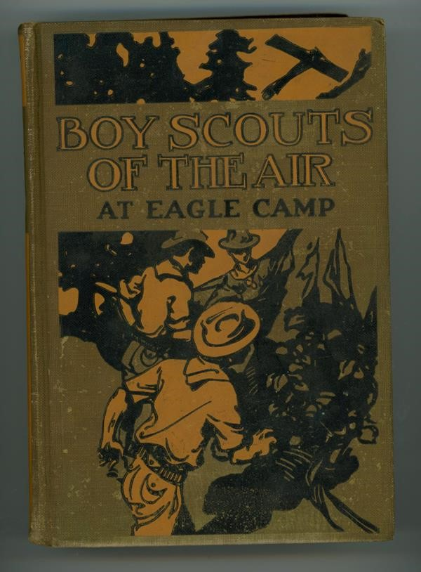 Boy Scouts of the Air: At Eagle Camp by Gordon Stuart
