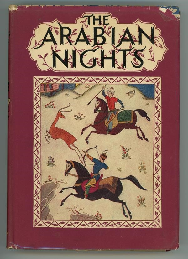 The Arabian Nights by E. Dixon (Kiddell-Monroe Art)