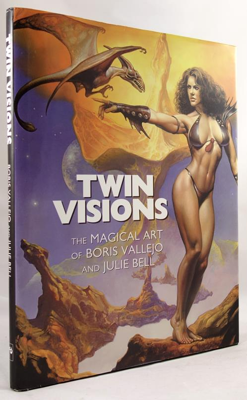 Twin Visions: The Magical Art of Boris Vallejo and Julie Bell by Boris Vallejo & Julie Bell